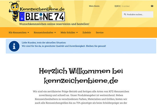 kennzeichenbiene.de